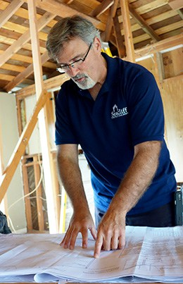 Lennox Smith, founder/owner Seacliff Construction & Design